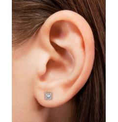 0.5 cts (x2) F VVS Princess Cut Diamonds