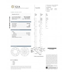 GIA Certified 1.03 cts D VS2 Round Brilliant Solitaire Diamond B-2-B