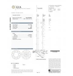 GIA Certified 1.01 cts E VS1 Round Brilliant Solitaire Diamond B-2-B