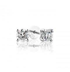 0.20 cts (x2 ) D VS Round Brilliant Diamonds