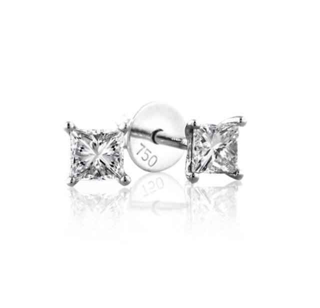 0.70 cts E VS Princess Cut Diamonds