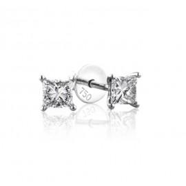 0.50 cts D VS Princess Cut Diamonds