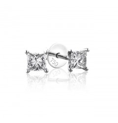 0.50 cts (x2) F VVS Princess Cut Diamonds