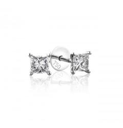 0.30 cts (x2) F VS Princess Cut Diamonds