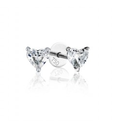 0.70 cts F VS Heart Brilliant Diamonds