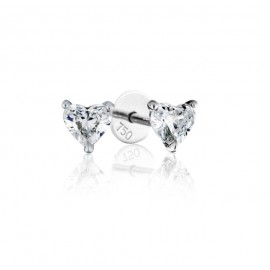 0.50 cts F VVS Heart Brilliant Diamonds