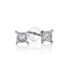 GIA Certified 0.50cts F VS1 Princess Cut Diamond