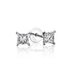 GIA Certified 0.50 cts F VS2 Princess Cut Diamonds