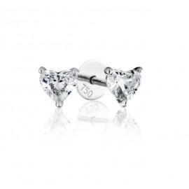 GIA Certified 0.90cts F VS1 Heart Shaped Diamond