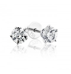 GIA Certified 1.01 cts & 1.03 cts (x2) D VS2 Round Brilliant Diamonds