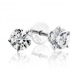 GIA Certified 1.21 cts F VS1 Round Brilliant Diamonds