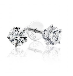 GIA Certified 1.21 cts F VS1 Round Brilliant Diamonds