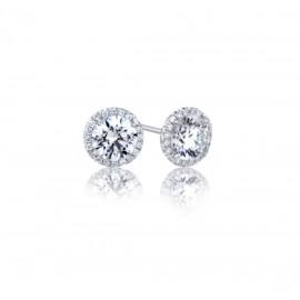 Caraters Glamour 0.30 cts E VS Round Brilliant Diamonds