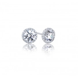 Caraters Glamour 0.30 cts F VS Round Brilliant Diamonds