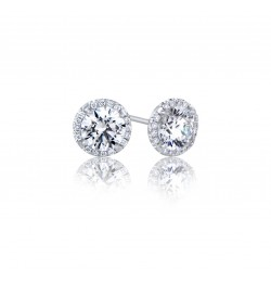 Caraters Glamour 0.40 cts F VS Round Brilliant Diamonds