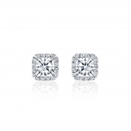 Caraters Glamour 0.30 cts D VS Princess Cut Diamonds