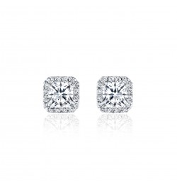 Caraters Glamour 0.30 cts F VS Princess Cut Diamonds