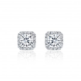 Caraters Glamour 0.50 cts E VVS Princess Cut Diamonds