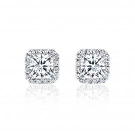 Caraters Glamour 0.70 cts D VS Princess Cut Diamonds