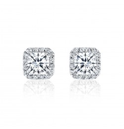 Caraters Glamour 0.70 cts D VS Princess Cut Diamonds