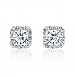 Caraters Glamour 1.00 cts F VS Princess Cut Diamonds