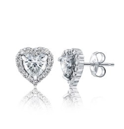 Caraters Glamour 0.70 cts E VS Heart Brilliant Diamonds