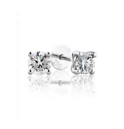 GIA Certified 0.32 cts (x2) F VVS1 Round Brilliant Diamonds