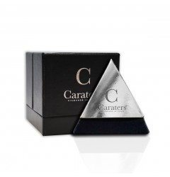 Caraters Glamour 0.50 cts (x2) E VS Princess Cut Diamonds