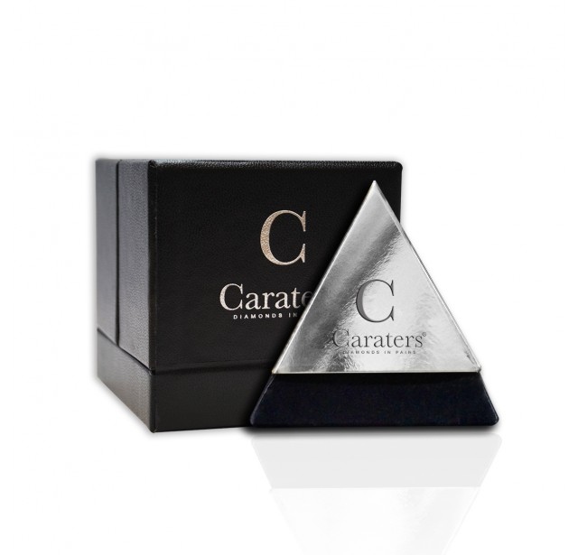 Caraters Glamour 0.70 cts (x2) E VS Trilliant Diamonds