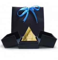 GIA Glamour 1.28 cts & 1.31 cts E VVS2 Round Brilliant Diamonds