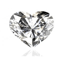 GIA Certified 2.15 cts F SI1 Heart Shaped Solitaire Diamond B-2-B