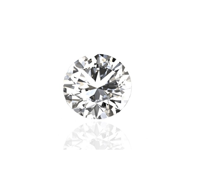 GIA Certified 3.01 cts F VS2 Round Brilliant Solitaire Diamond B-2-B