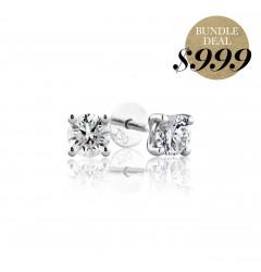 0.10 cts F VS Round Brilliant Diamonds