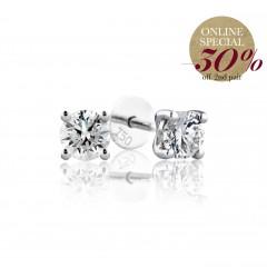 0.30 cts F VS Round Brilliant Diamonds