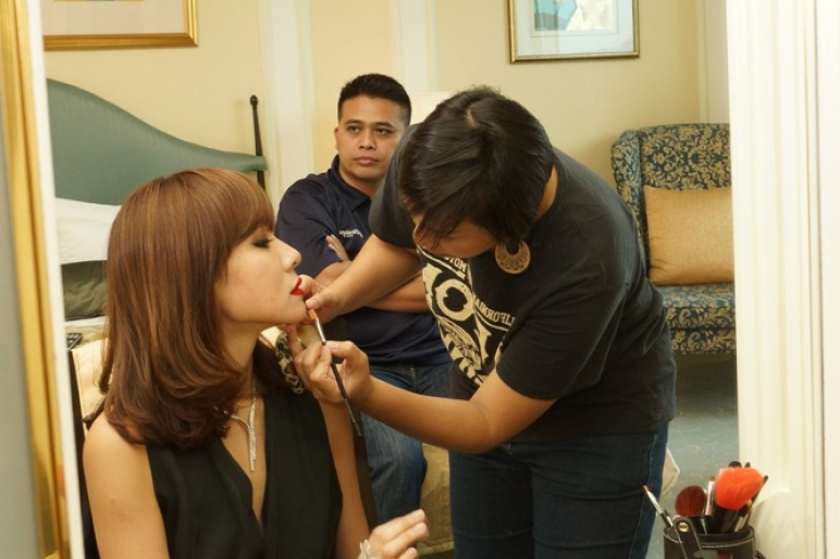 Caraters Behind the Scenes at Miss Universe Singapore 2013