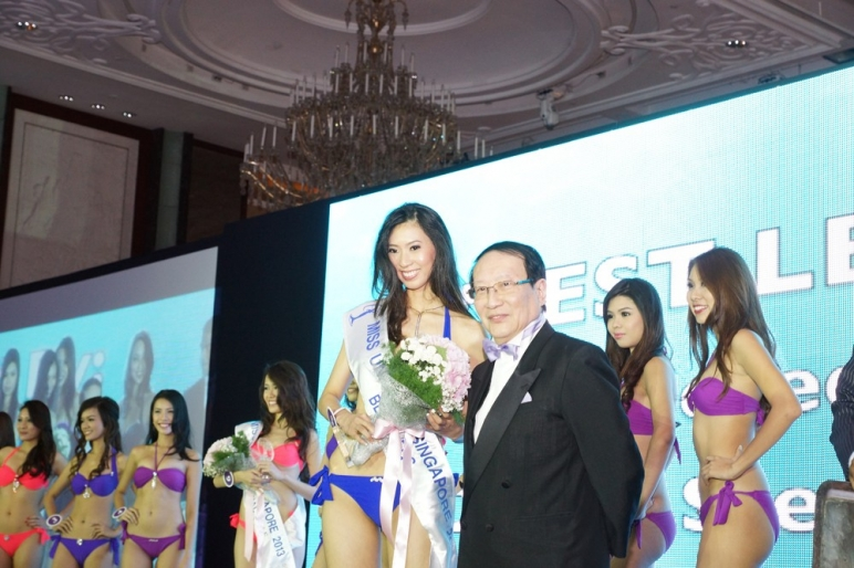Caraters at Miss Universe Singapore 2013 Grand Finals