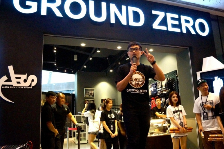 Official opening of boutique Ground Zero 28 Sept