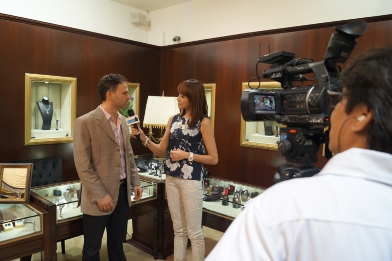 Behind The Scenes at Syddall Diamonds