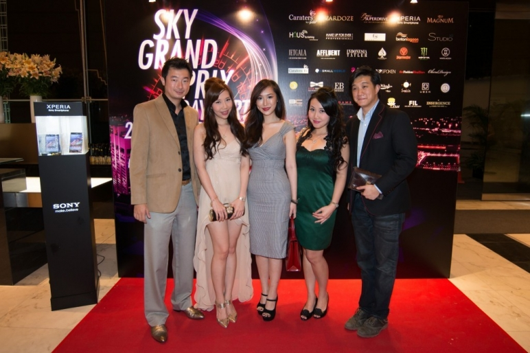 Sky Grand Prix 2013 Diamonds & Champagne Night presented by Caraters by Syddall