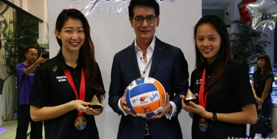SINGAPORE NETBALLERS RECOGNISED FOR SEA GAMES SUCCESS